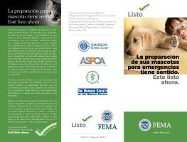 La preparacion de sus mascotas para emergencias