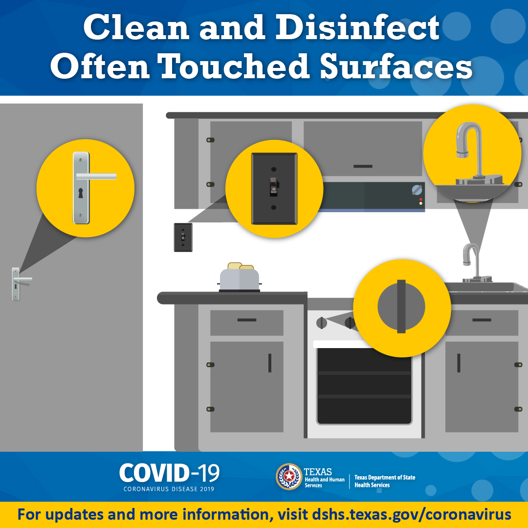2020 Clean and Disinfect Surfaces