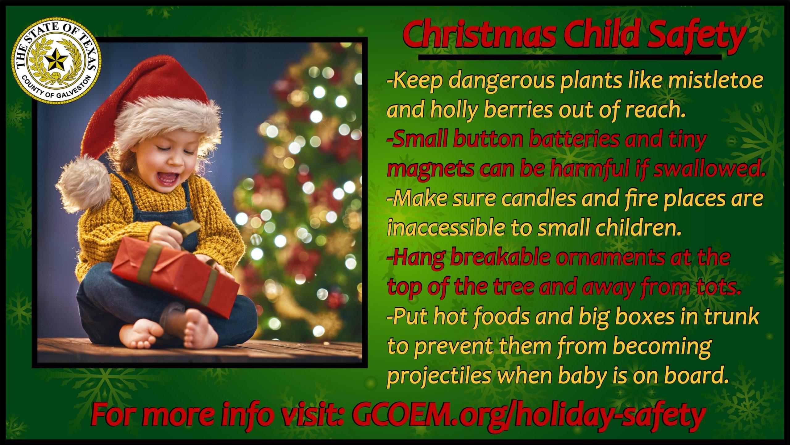 Christmas Child Safety