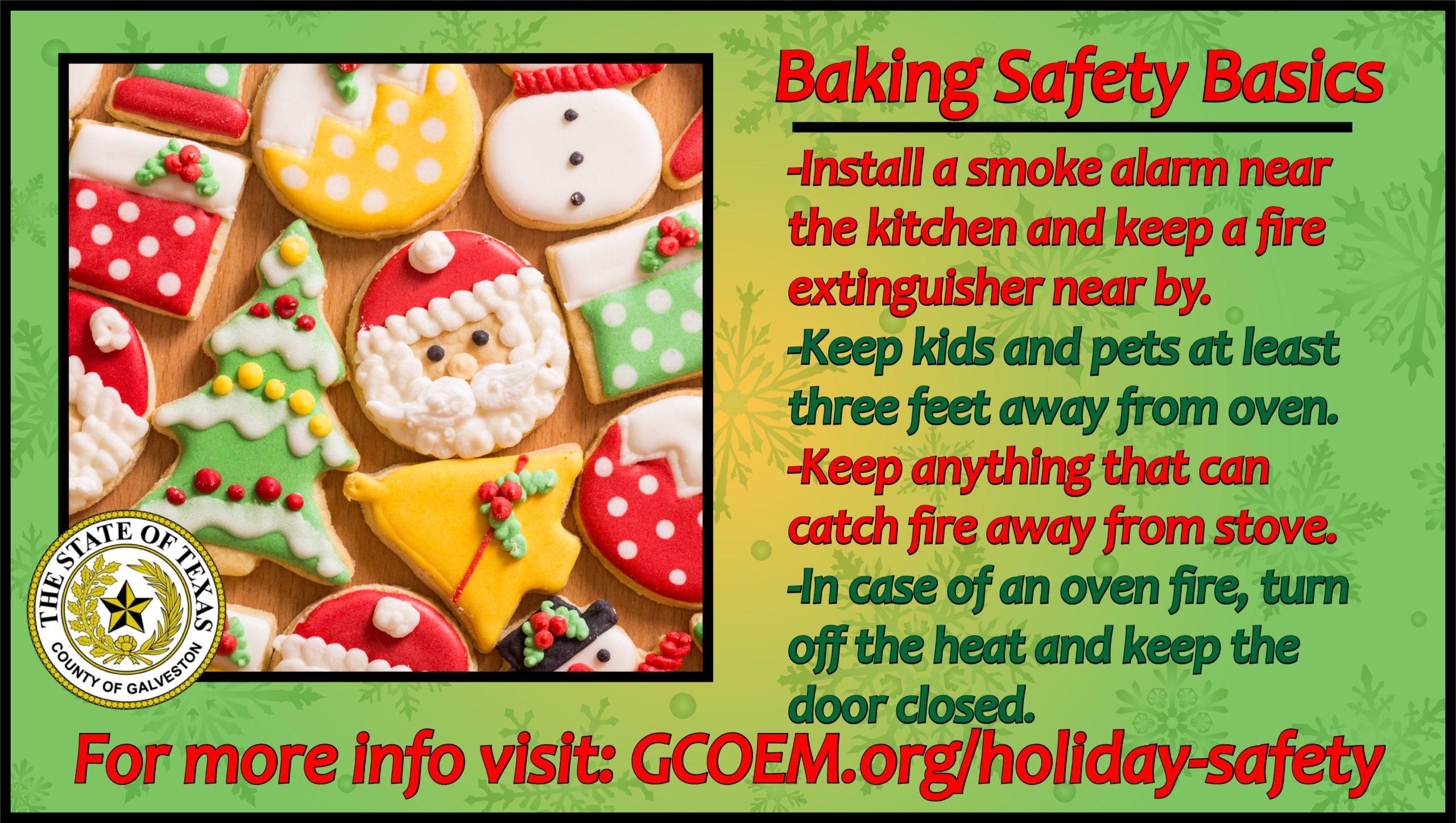 Baking Safety Basics