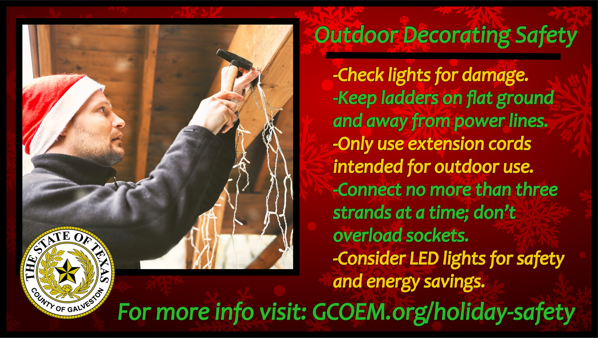 Outdoor Decorating Safety