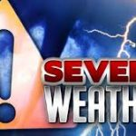 WEATHER UPDATE  🌧 Strong to Severe Storms Possible Today
