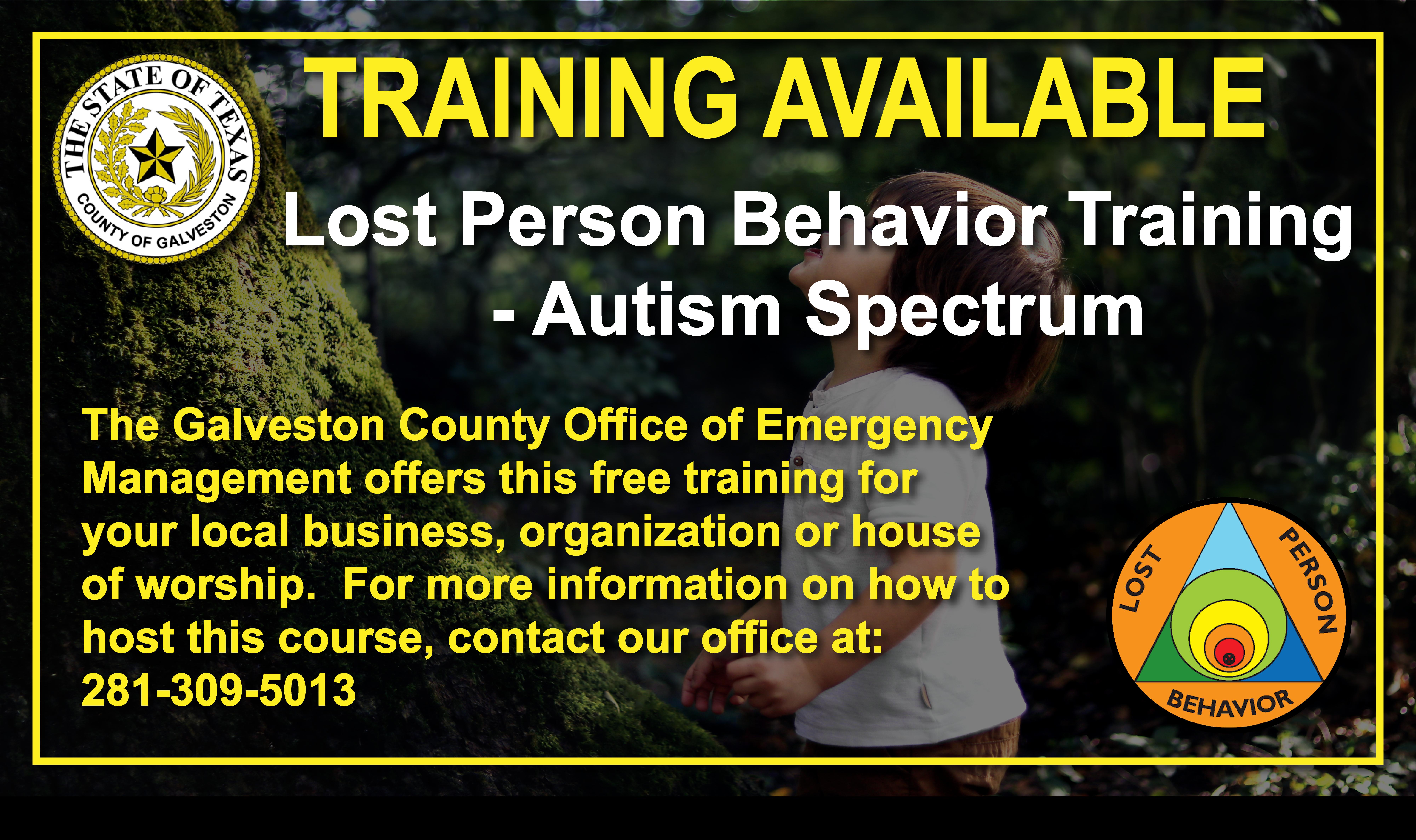 Lost Person – Autism Spectrum