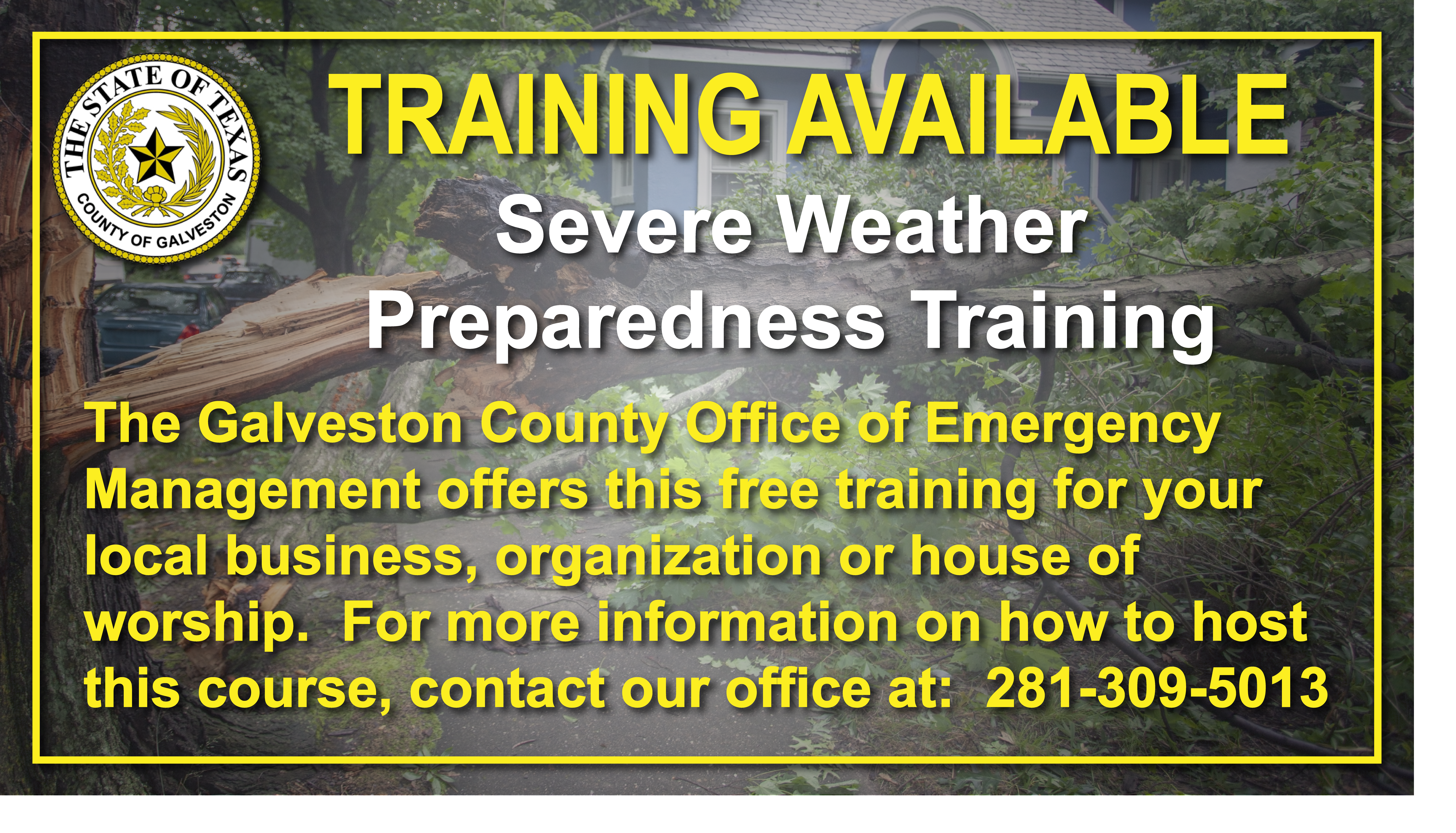Severe Weather Preparedness Training
