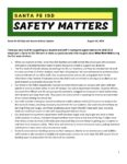 Santa Fe ISD Safe and Secure Schools Update 08/24/2018