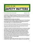 Santa Fe ISD Safe and Secure Schools Update 09/07/2018